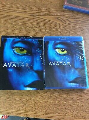 Avatar (Blu-ray/DVD, 2010, 2-Disc Set) New/factory sealed, w/ slip cover