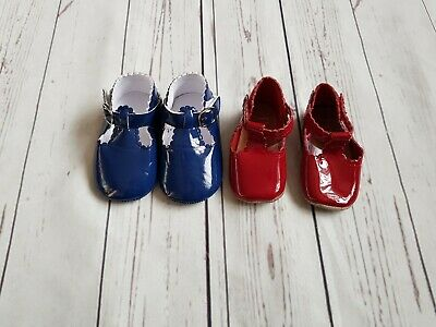Baby Girl Next And Boutique Patent Dolly Crib Shoes 3-6 Months ❤