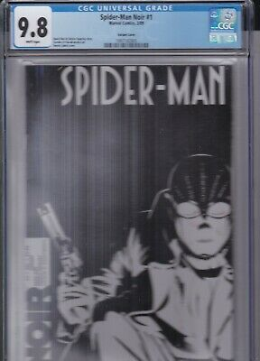 Spider-Man Noir #1 Variant Cgc 9.8 1St Appearance, Into The Spider-Verse Movie!