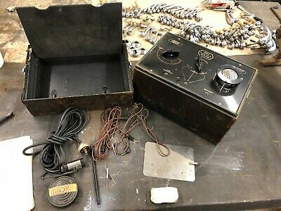 Vintage surgical/medical device Comprex Radio Knife Vacuum Tube Powered 1930s
