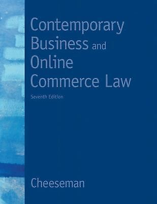 Contemporary Business and Online Commerce Law [7th Edition] [MyBLawLab Series]