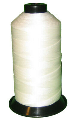 White Bonded Nylon sewing Thread V-277 T270 for Upholstery leather canvas 800YDS