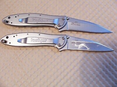 LOT of 2 - KERSHAW 1660  Ken Onion Design, Speedsafe Assisted Opening  Knives