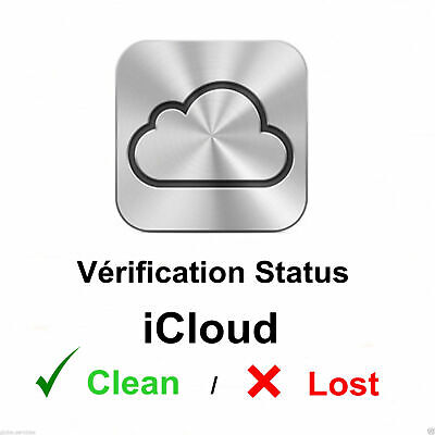Apple icloud Find my iphone FMI CLEAN/ LOST checker by imei OR Serial #