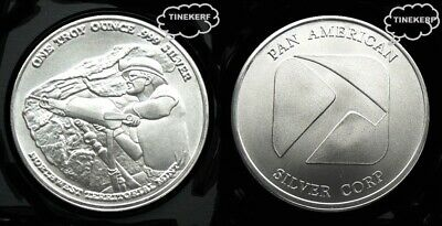 Northwest Territorial  Pan American  1 Troy Ounce .999 Fine Silver Bullion Round