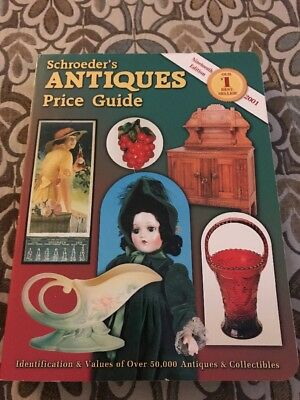 Over 50000 Antiques from A-Z-Schroeder's Antiques Price Guide-2001