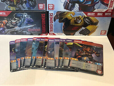 Transformers TCG Wave 2 Common, Uncommon and Rare Character Card Set of 14