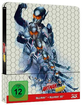 Ant-Man and the Wasp (3D + 2D Blu-ray Steelbook) BRAND NEW