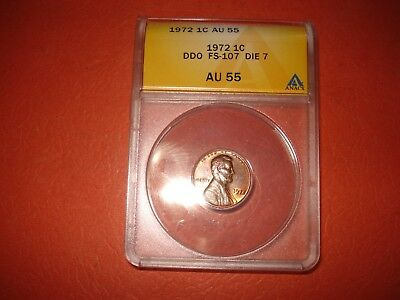 1972 Lincoln Cent Double Die Obverse #7