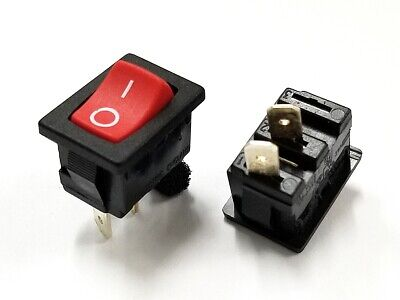 Arcolectric C1522BA C1522AA Momentary ON ON 10 Rocker Switches M.O.M. OFF