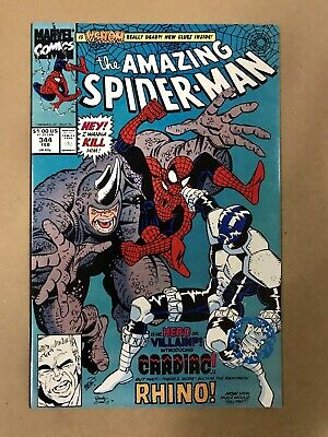 Amazing Spider-Man #344 1st Cletus Kasady (Carnage) 1st Cardiac Feb 1991 Marvel