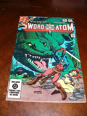 Sword of the Atom 3 of 4 Nov 1983 very fine Bronze age DC comic