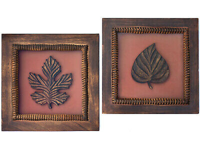 Arts and Crafts / Mission Style - Pair of Frames with Wood Carvings - Hand Made
