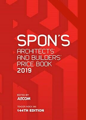 Spon's Architects and Builders Price Book 2019 [PDF Dispatch]