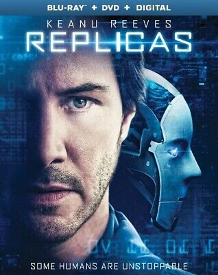 Like New - Replicas [Blu-ray + DVD] with Slip Cover Free Shipping NO DIGITAL