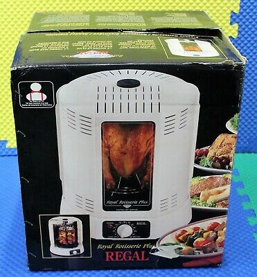 Regal Royal Rotisserie Plus Model No. K7820 Never Unwrapped Or Used!