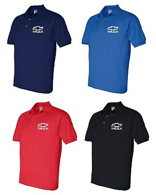 Chevy Truck Polo Shirt Mens Adult Sizes S-5XL 4 Colors