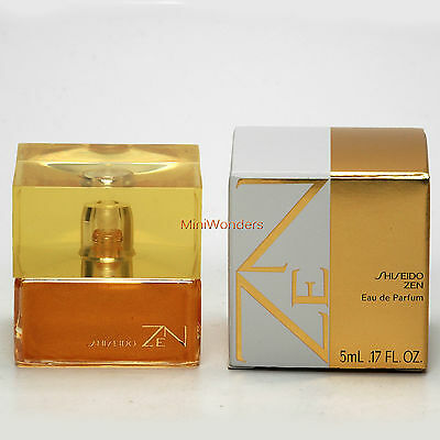 Mini Perfume SHISEIDO ZEN Eau de Parfum 5 Ml 0.17 Oz Miniature New in Box