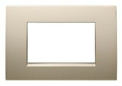 Clipsal MODENA 800-SERIES COVER Single, Horizontal Mount CHAMPAGNE *Aust Brand