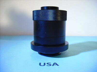 1x Phototube C-Mount CCD Camera Adapter for Leica HC DM Trinocular Microscope