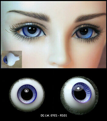 14mm two shade of violet high quality glass bjd doll eyes dollfie RS-01 ShipUS