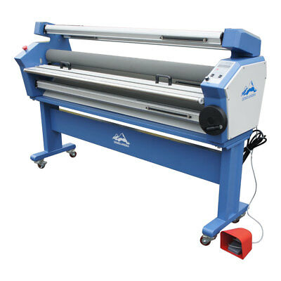"""AU 63"""" Wide Format Cold Laminator laminating Full-auto Low Temp with Heat Assist"""