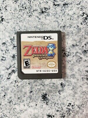 The Legend of Zelda: Phantom Hourglass (Nintendo DS, 2007) cartridge only
