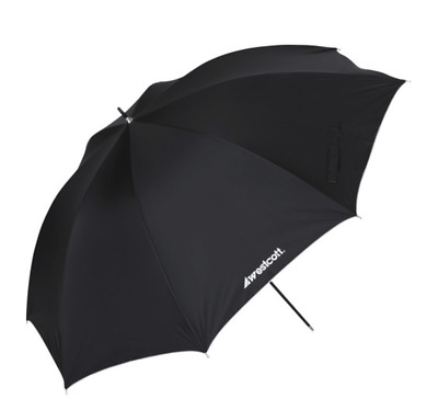 Westcott 32'' Umbrella - Satin White with Removable Black Cover - MINT!