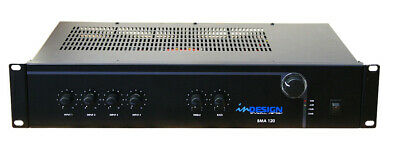 NEW inDesign BMA 120 Public Address Mixer Amplifier 120W