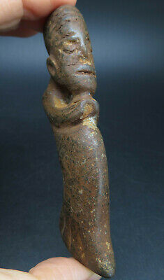 Antique Stone Age Neolithic Mythological  Idol Statue