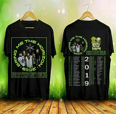 HOT LIMITED Bring-Me-The-Horizon-First-Love-Tour-2019 T-Shirts S-5XL