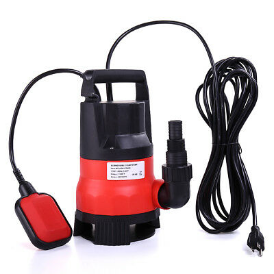 1/2 HP 2000GPH Submersible Water Pump Clean Clear Dirty Swimming Pond Pool Flood
