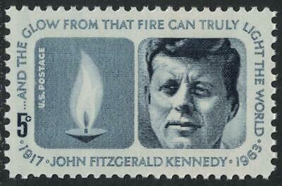 Scott 1246- President John F. Kennedy, Eternal Flame- MNH 5c 1964- mint stamp