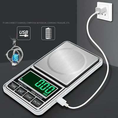 0.1g-500g Electronic Digital Pocket Jewellery Weighing Kitchen Scales Tool 2019