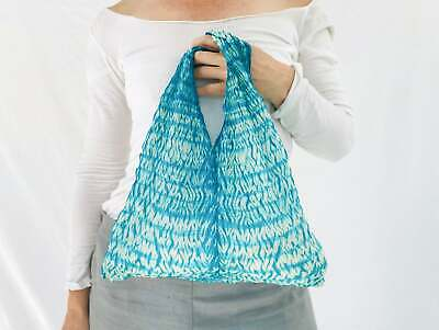 Silk Shibori Tie Dyed Bag from Thailand