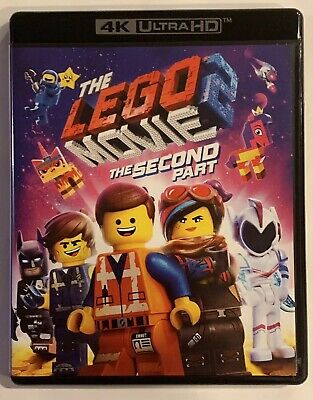 The Lego Movie 2: The Second Part (4K UHD Disc ONLY + Artwork/Case) SEE DETAILS!