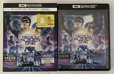 Ready Player One (4K Ultra HD Disc ONLY + Slipcover/Artwork/Case) SEE DETAILS!