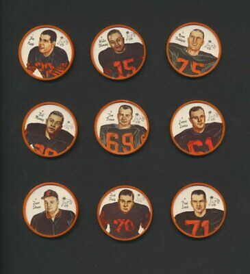 BC Lions 1964 Nalley's CFL Football Coins Rare Lot of 18/20 Grey Cup Champs Kapp