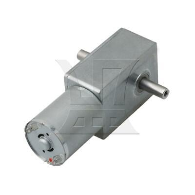 Silver 23RPM High Torque Turbo Worm Reducer Geared DC12V Motor JGY370 for Robot