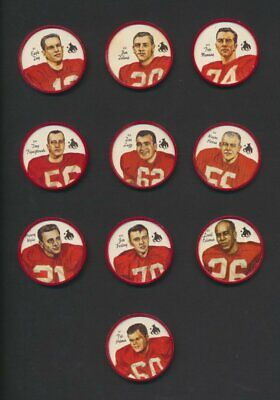 Calgary Stampeders 1964 Nalley's CFL Football Coins   Rare Lot of 19/20 Near Set
