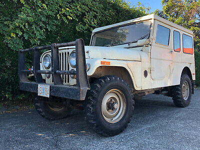 Rare 75 Willy's Jeep Cj6 #forest service hardtop Range Rover Toyota Land cruiser
