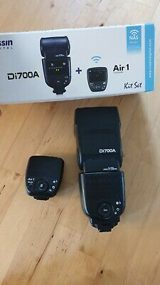Nissin Di700A Flash Kit with Air 1 Commander Kit for Sony (FG DI700AS#