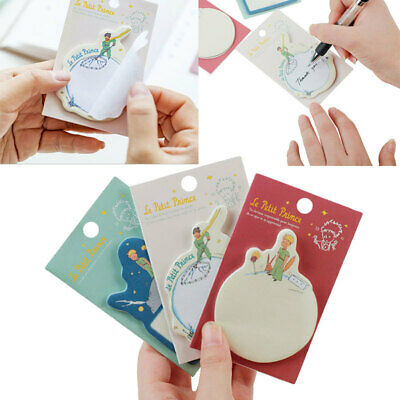 Creative Little Prince cartoon paste N times  Sticky Notes Memo Pad  Brand new