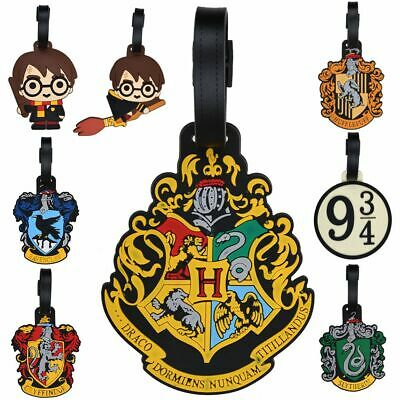 Harry Potter Hogwarts Luggage Tag Suitcase ID Holder Baggage Boarding Tags New