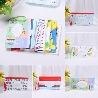 Baby Product Stroller Accessories Tissue Box Cosmetic Pouch Wet Wipes Bag