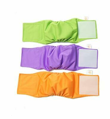 PETTING IS CARING Male Dog Wraps Washable& Reusable Belly Band Diapers Materials