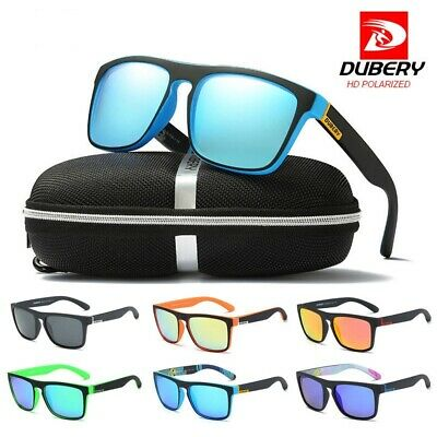 DUBERY Polarized Sunglasses Outdoor Sports Driving Fishing Casual Mens/Womens
