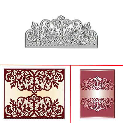 Lace Flower Metal Cutting Die Stencil DIY Scrapbooking Album Card Making Decora