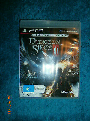 Dungeon Siege III Limited Edition (Sony PlayStation 3, 2011) PS3 game action RPG
