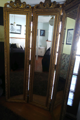 Antique dressing mirror period piece